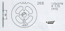 Piñón HERCULES 268 43Z Cubo H905 MP2 MP4, Optima 3,4, GARELLI DKW KTM