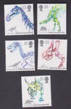 1991 Europa SG1573/7 Set 5 Stamps QE II 150th Anniversary of Dinosaurs, Owen MUH