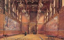 BR94470 the royal gallery houses of parliament london painting postcard   uk