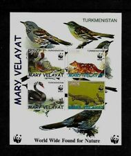 TURKMENISTAN - NOTE AFTER Sc 64 NH issue of 1997 - SOUVENIR SHEET - BIRDS