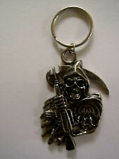 Sons of Anarchy SOA Grim Reaper Keychain key ring