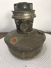 Vintage Super Aladdin Font Kerosene oil lamp - British Made
