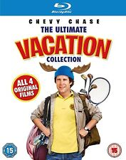 The Ultimate Vacation Collection Box Set All Four Films Blu-Ray Region Free