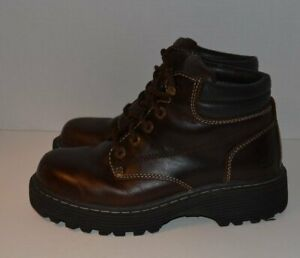 Vintage Skechers Women's Leather Grundge Chunky Shoes ~ Boots Size 7