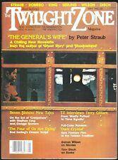 Twilight Zone V 2 # 2 1982 Science Fiction Horror Magazine Peter Straub Gilliam
