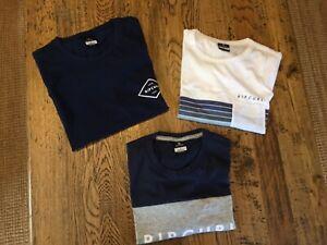 3 x Rip Curl men's T-shirt's Size Small BNWT new
