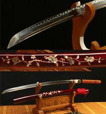 41'1095 HIGH CARBON STEEL CLAY TEMPERED HANDMADE JAPANESE SAMURAI SWORD KATANA