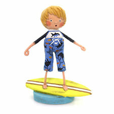 LORI MITCHELL ~ Hangin 10 Surfer Boy ~ Beach Figurine ~ Free Shipping!