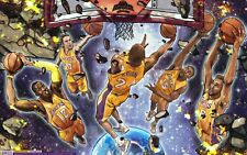 Poster A3 Lakers Pau Gasol Kobe Bryant Baloncesto Basketball 01