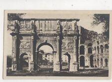 Roma Arco Di Constantino Italy 1927 RP Postcard 479b