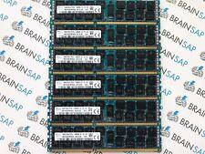 96GB (6x 16GB) DDR3 Hynix HMT42GR7MFR4A-H9 REG ECC - 2Rx4 PC3L-10600R-9-12-E2
