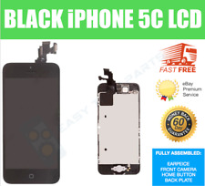 Iphone 5 C Completa LCD Pantalla Digitalizador Repuesto Original OEM Negro A1456 A1507 Reino Unido