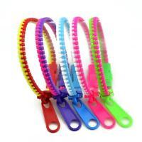 Two-Colors Zipper Bracelet Fidget Products Kids Sensory Toy Stress RelieToy Reu