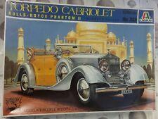 Italeri Rolls Royce Phantom II Torpedo Cabriolet 1:24 plastic Kit
