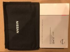 2010 - 2017 Nissan Juke  Owner Owners Manual And Case
