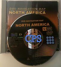 2002 2003 2004 2005 2006 Toyota Avalon Navigation DVD US Canada Map Version 10.1