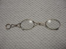 Antique 14k Yellow Gold Folding Glasses Spectacles Lorgnette Opera Glasses