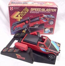MATTEL 4 ON THE FLOOR SPEED BLASTER DATSUN PICK UP TOY PLAYSET BOXED 1982