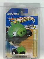 Hot Wheels Angry Birds Minion Pig Lime Green #35 Of 50- 2012 New Models