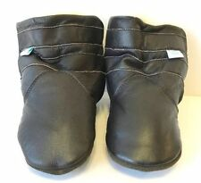 Leather Slip - on Baby Boots