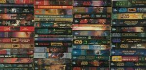 BUILD A LOT: STAR WARS Saga Paperback Books: CHOOSE TITLES Legends / New Canon