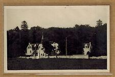 Carte Photo vintage card RPPC petit château manoir à identifier kh0361