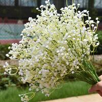 Artificial Fake Flower Breath Gypsophila Silk Flowers Bouquet Home Decor New  Gw