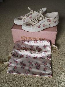 Superga LoveShackFancy Dream Womens shoes, USA 8.5, Euro 39.5