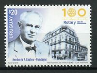 Uruguay 2018 MNH Rotary Club International 100 Years 1v Set Architecture Stamps