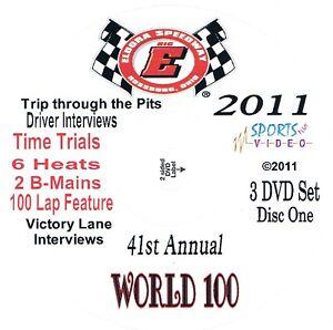 Late Models World 100 DVD From Eldora speedway 9-8+9+10-2011