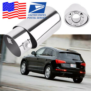 DIY Brand New Plating Process Stainless steel Silver Appearance Car Exhaust Pipe