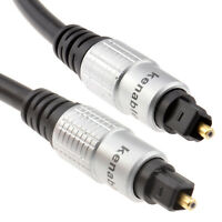 2m HQ TOS Link Optical Lead 6mm Cable TOSlink SPDIF 6ft