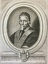 Pape Clément X religion catholique catholiscisme grav Nicolas de Larmessin XVII