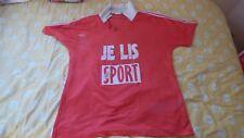 maillot de foot Adidas ventex rouge Je Lis le sport L porté n°4