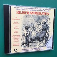 Hamerik REJSEKAMMERATEN Opera CD Hans Christian Andersen Danish Philharmonic 98