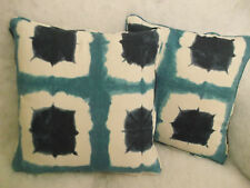 """SHOJI BY SCION 1 PAIR OF 18"""" CUSHION COVERS - PIPED AND DOUBLE SIDED"""
