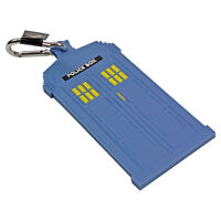 Doctor Who Style TARDIS Luggage Tag. Suitcase Holiday Baggage Clip Travel Gift