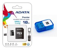 A-DATA 16GB MicroSD  SDHC Memory Card Class 10 For GoPro HD HERO7 CAMCORDER