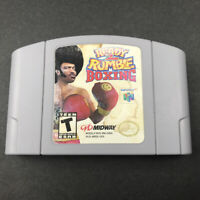 Ready 2 Rumble Boxing 1997 Midway Nintendo 64 N64 Game Cartridge Only