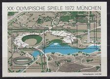 Briefmarken aus der BRD (1970-1979) mit Olympischen-Spielen-Motiv