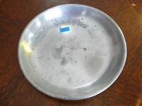 Rarität kleiner alter ca. 200 Jahre alter Zinn Suppenteller oder Katzenteller 10
