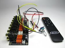 Multifunction Audio Switching board w/ remote switching, encoder switching 6-12V