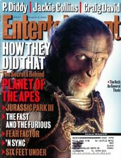 Entertainment Weekly Magazine #607 August 3, 2001 Planet Of The Apes, 'N Sync