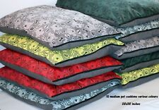 Medium Cotton Pet Cushion Bundles (Wholesale) 10 PCE  Great Seller. Dog Tired