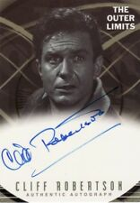 Outer Limits Premiere Cliff Robertson as Allan Maxwell A11 Auto Card