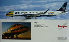 Herpa Wings 1:200 Embraer E195 Azul Brazilian Airline PR-AYU 557030