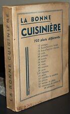 La bonne cuisinières - 732 plats différents / 1935