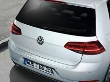 Original VW Golf VII Protección de Bordes Carga Plástico, Mira Acero Inoxidable