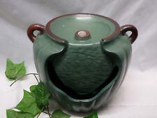 Zimmerbrunnen Keramik in Form eines Kruges grün