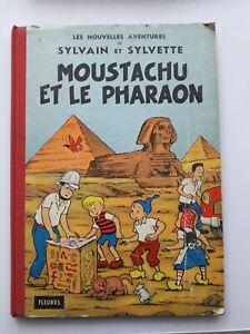 Sylvain Et Sylvette Moustachu Et Le Pharaon FLEURUS 1962